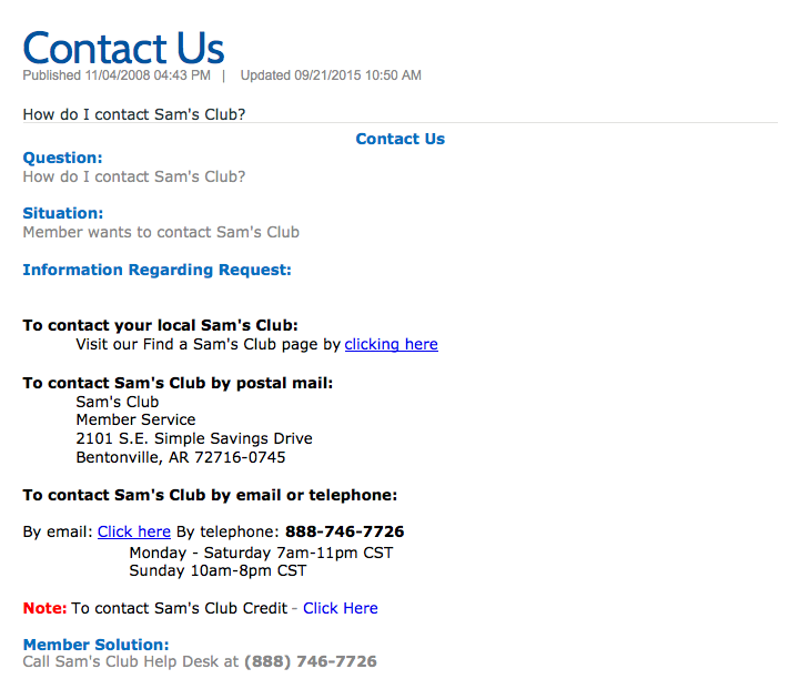 what is going on sams club i try to contact you and you screw me over
