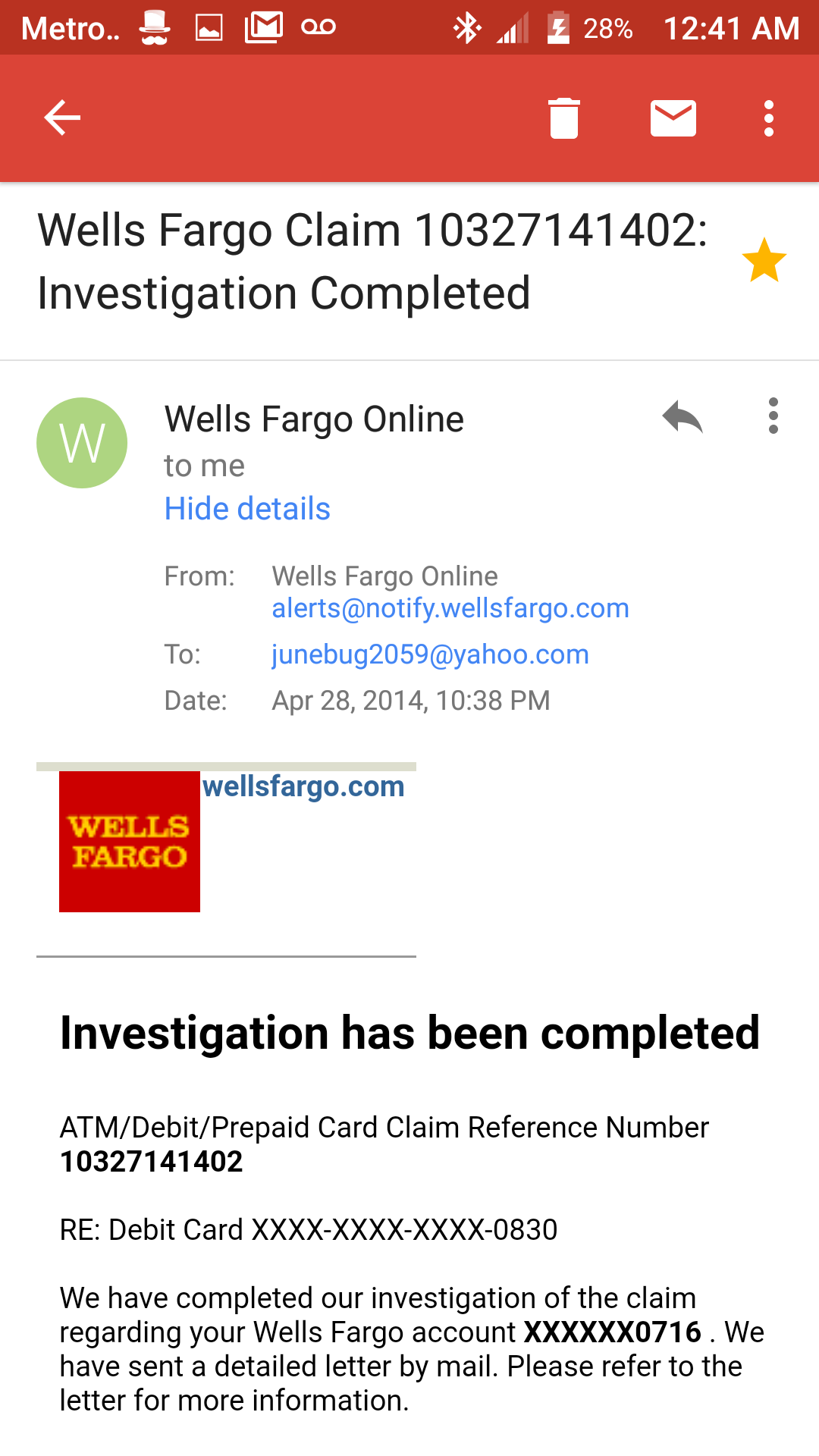 Wells Fargo Customer Service Complaints Department Wiring Instructions For Had Intention On Maintaining Our Account And Growing That Was Snatched From Us We Have Not Received Any Form Of Help To Obtain Fundspls