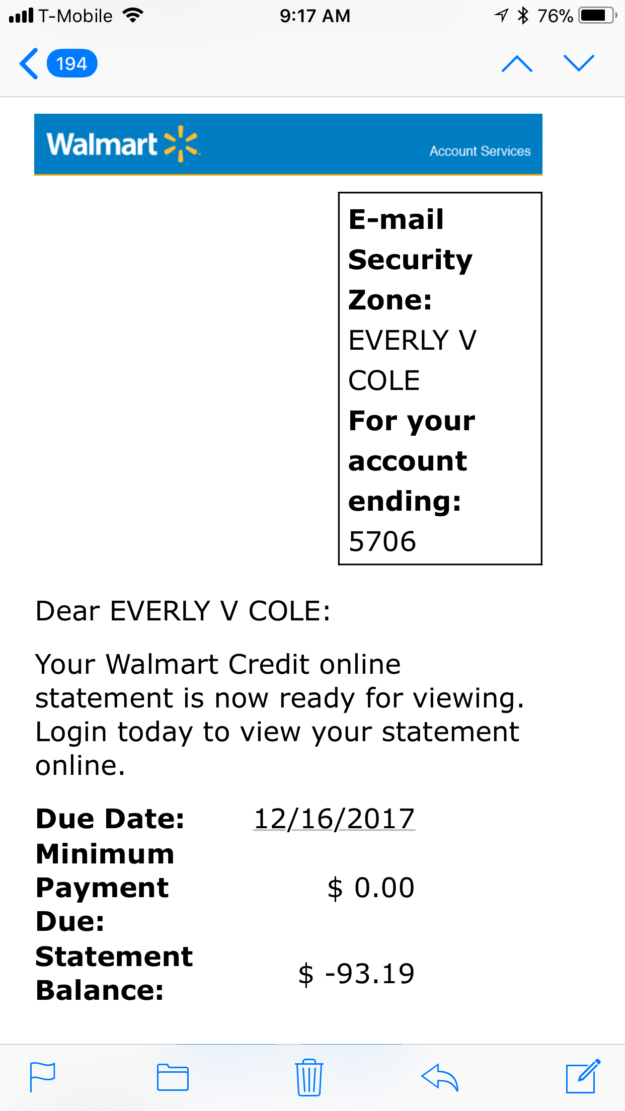 Walmart Corporate Complaints - Number 2 | HissingKitty.com