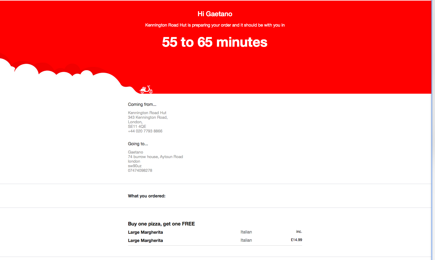 Pizza Hut Customer Service Complaints Department | HissingKitty.com