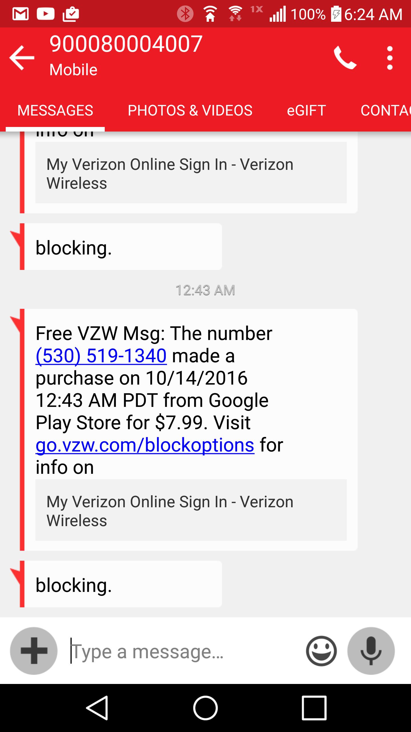 Verizon Customer Service Complaints Department