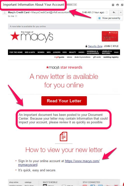 Citibank Online Sign In >> Macy's Customer Service Complaints Department ...