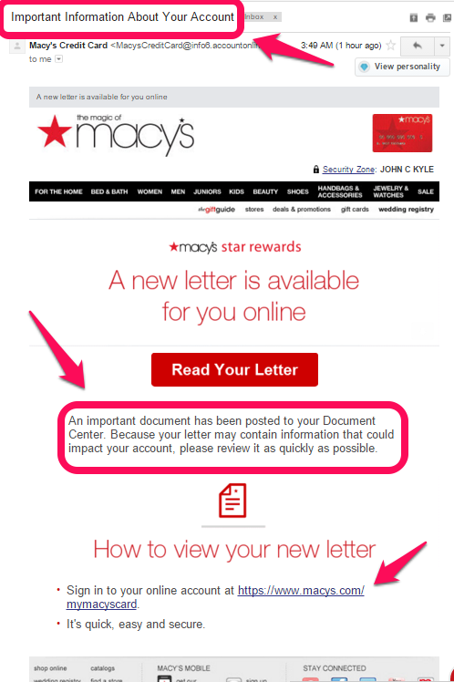 Macy's Customer Service Complaints Department | HissingKitty.com