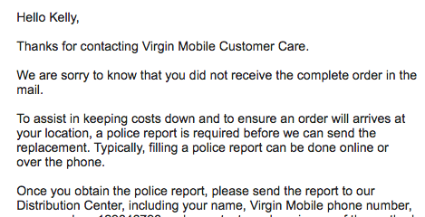 Virgin Mobile Customer Service Complaints Department | HissingKitty com