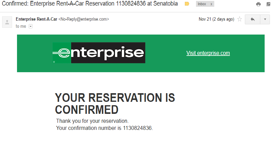 Enterprise Car Rental Complaints Email