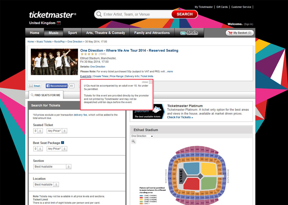 Ticketmaster Customer Service Complaints Department | HissingKitty.com