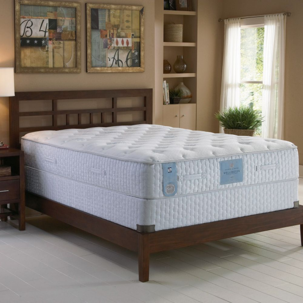 exclusively in twin stearnsandfostercanada at hybrid mattress available lux sears collections room