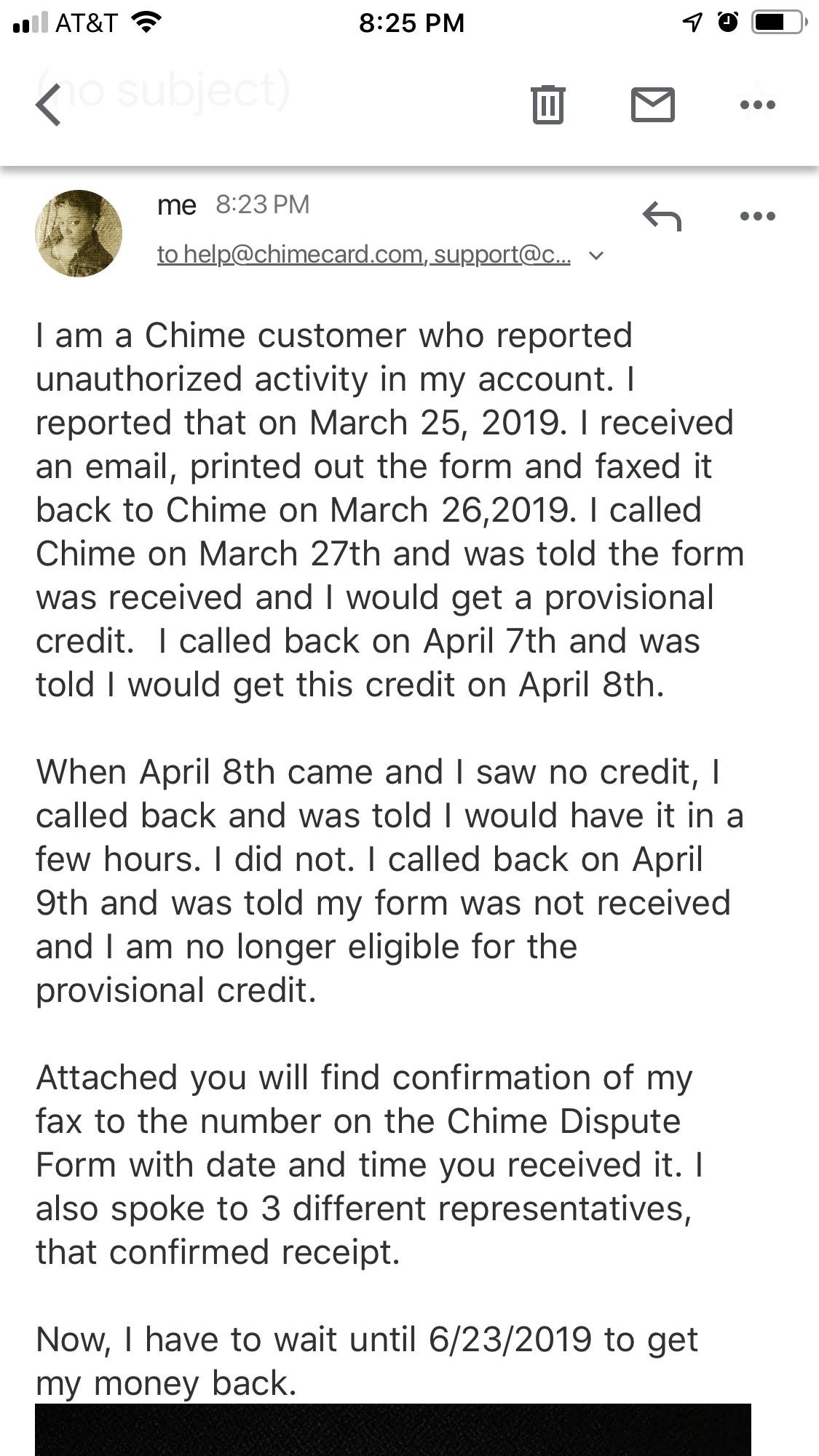 Chime Customer Service Complaints Department | HissingKitty com