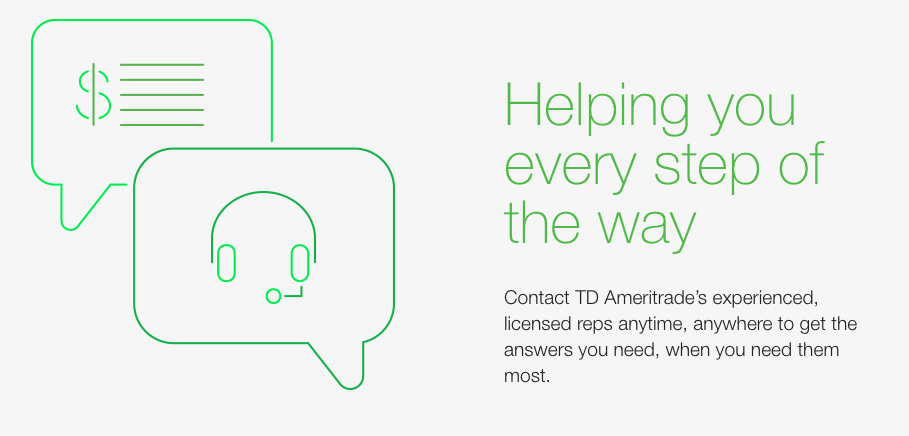TD Ameritrade Customer Service Complaints Department